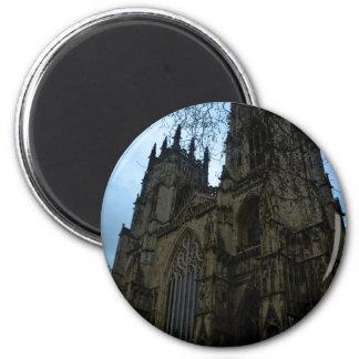 Iglesia de monasterio de York Imán Redondo 5 Cm