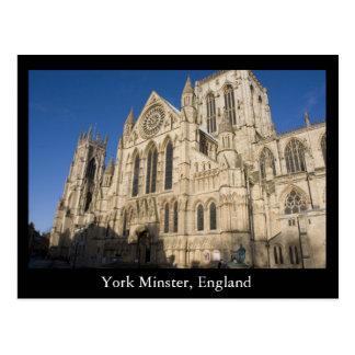 Iglesia de monasterio de York, Inglaterra Tarjetas Postales