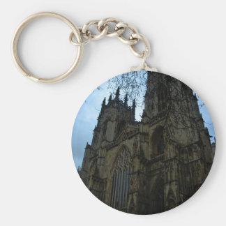 Iglesia de monasterio de York Llavero Redondo Tipo Pin