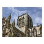 Iglesia de monasterio de York, postal de Yorkshire