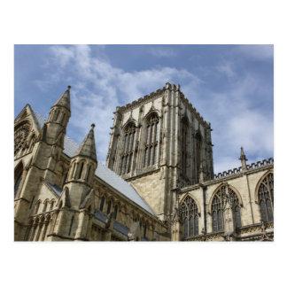 Iglesia de monasterio de York postal de Yorkshire