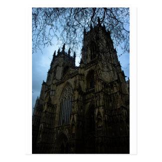Iglesia de monasterio de York Postales