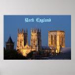 Iglesia de monasterio de York Poster