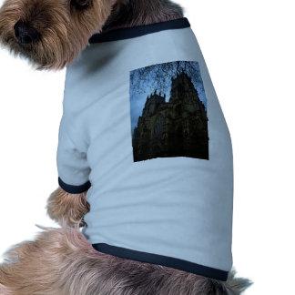 Iglesia de monasterio de York Camiseta Con Mangas Para Perro