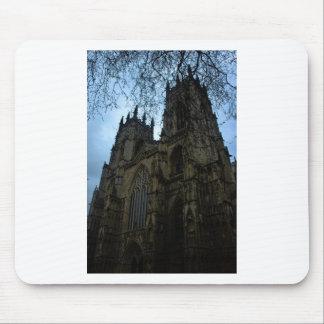 Iglesia de monasterio de York Tapetes De Raton