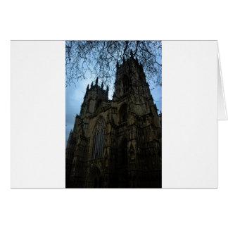Iglesia de monasterio de York Tarjeta De Felicitación