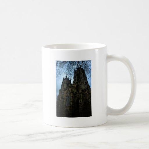 Iglesia de monasterio de York Tazas De Café