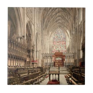 Iglesia de monasterio de York, York, Yorkshire, In Azulejo Cuadrado Pequeño
