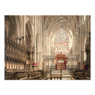 Iglesia de monasterio de York, York, Yorkshire, In Impresion Fotografica