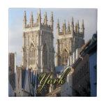 Iglesia de monasterio Inglaterra de York Teja Cerámica