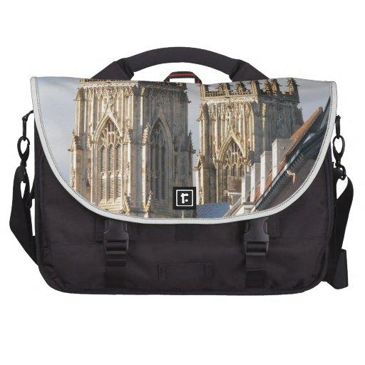 Iglesia de monasterio Inglaterra de York Bolsas Para Portatil