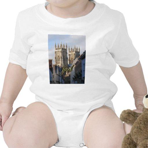 Iglesia de monasterio Inglaterra de York Camiseta