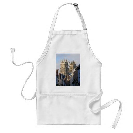 Iglesia de monasterio Inglaterra de York Delantal