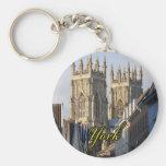 Iglesia de monasterio Inglaterra de York Llaveros Personalizados