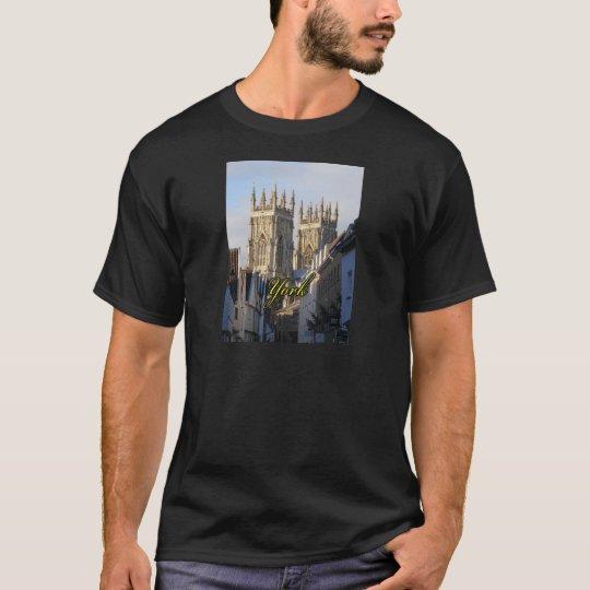 Iglesia de monasterio Inglaterra de York Playera