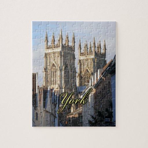 Iglesia de monasterio Inglaterra de York Puzzle Con Fotos