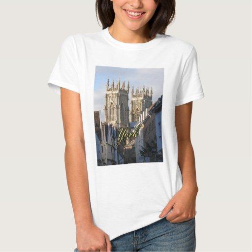 Iglesia de monasterio Inglaterra de York Remeras