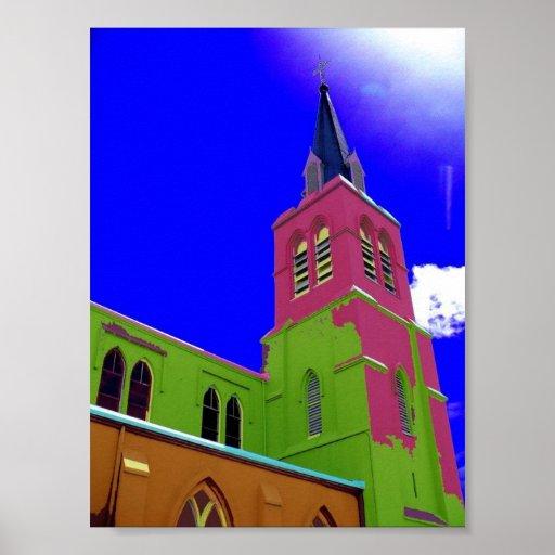 iglesia de New Orleans Impresiones