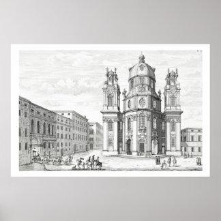 Iglesia de Notre Dame, Salzburg, Austria, de 'Ent Impresiones