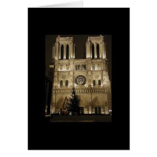 Iglesia de Notre Dame Tarjeta De Felicitación