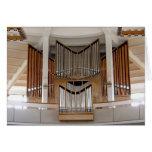 Iglesia de nuestra señora, tarjeta del órgano de R