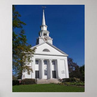 Iglesia de Nueva Inglaterra Posters