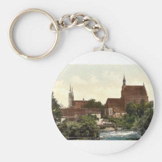 Iglesia de Pfarr, Bromberg, Silesia, Alemania (es  Llaveros Personalizados