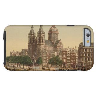 Iglesia de San Nicolás, Amsterdam, Países Bajos Funda De iPhone 6 Tough