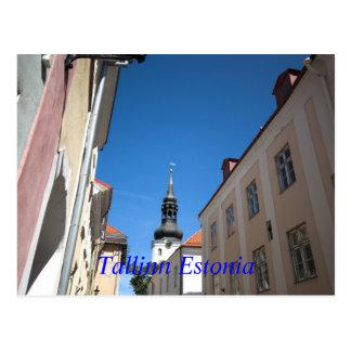 iglesia de San Nicolás, Tallinn Estonia Postales