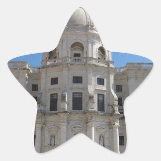 Iglesia de Santa Engracia o panteón nacional Pegatina En Forma De Estrella
