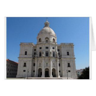 Iglesia de Santa Engracia o panteón nacional Tarjeta De Felicitación