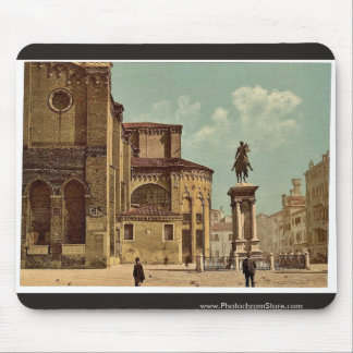 Iglesia de Santi Juan e Pablo y estatua de Bartol Tapete De Raton