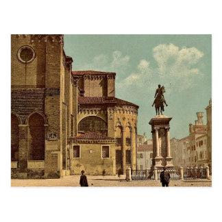 Iglesia de Santi Juan e Pablo y estatua de Bartol Postales