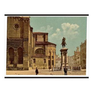 Iglesia de Santi Juan e Pablo y estatua de Bartol Postal