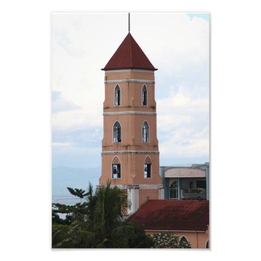 Iglesia de Santo Niño, ciudad de Tacloban Arte Fotografico