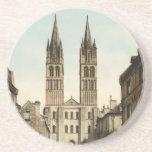 Iglesia de St. Etienne, Caen, Francia Posavasos Diseño
