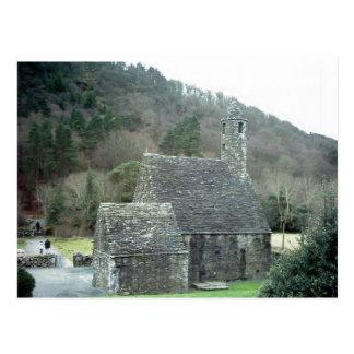 Iglesia de St Kevins Glendalough Co Wicklow Irl Postal