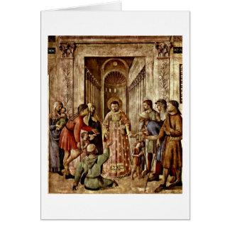 Iglesia de St.Lawrence por Fra Angelico Tarjeta
