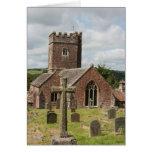 Iglesia de St Mary, Bickleigh, Devon, Reino Unido Felicitaciones