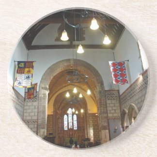 Iglesia de St Mary dentro del castillo de Dover en Posavasos Diseño