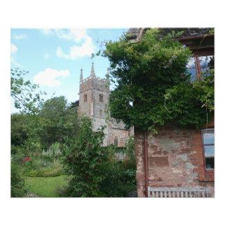 Iglesia de St Thomas de Cantorbery, Cothelstone, R Fotografía