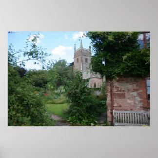 Iglesia de St Thomas de Cantorbery, Cothelstone, R Póster