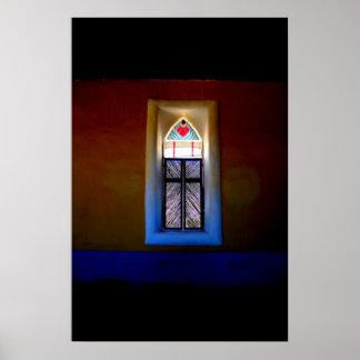 Iglesia de Terlingua Póster