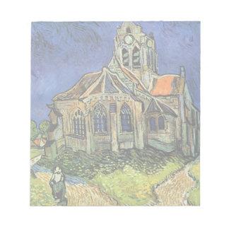 Iglesia de Van Gogh en Auvers, arquitectura del Blocs De Papel