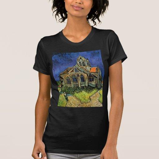 Iglesia de Van Gogh en Auvers, arquitectura del Camisetas
