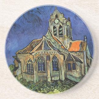 Iglesia de Van Gogh en Auvers, arquitectura del Posavasos Personalizados