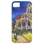 Iglesia de Van Gogh en Auvers iPhone 5 Case-Mate Fundas