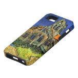 Iglesia de Van Gogh en la bella arte de Auvers (F7 iPhone 5 Carcasa