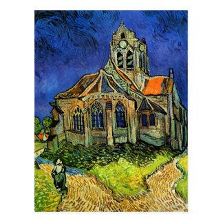Iglesia de Van Gogh en la bella arte de Auvers F7 Tarjetas Postales