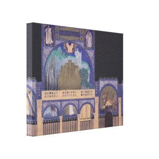 Iglesia del Espíritu Santo de Koloman Moser- en Dü Lienzo Envuelto Para Galerías